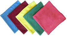 Microfiber Glass Towel - Textured