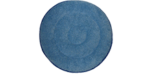 Microfiber Carpet Bonnet - Blue