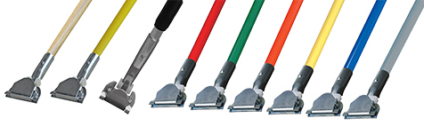 Dust Mop Handle: Clip-On Style | Extendable Available